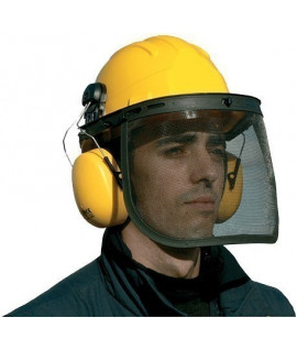 Casque forestier, Vente de casque forestier, Casque de chantier, Casque chantier-lepont.Fr