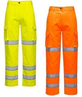Pantalon de travail haute visibilité femme