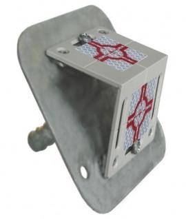 Adaptateur plaque métallique Rothbucher RSAM80 - Lepont Equipements